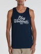 Obey Homebrew Tank Top (navy)