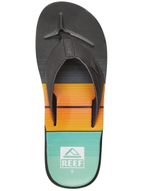 Reef HT Prints Flipflops (turqouise/orange/black)