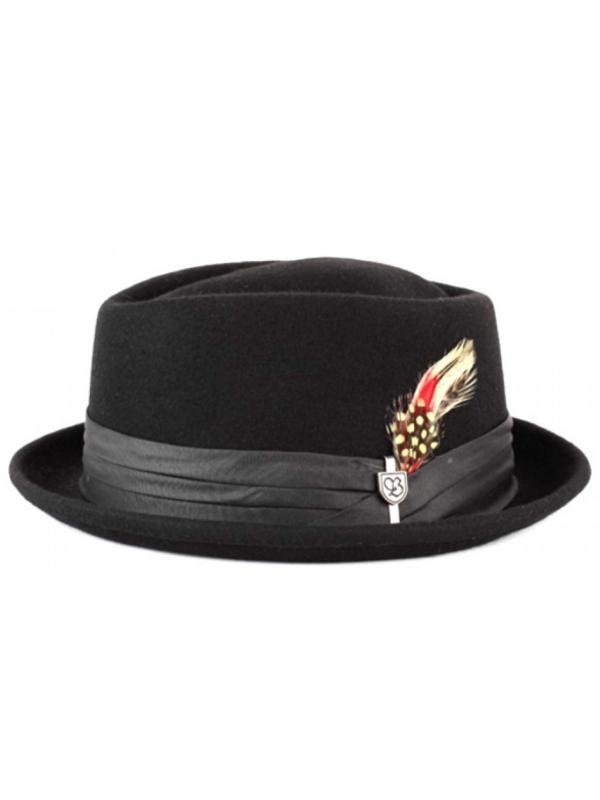 Brixton Stout Hat (black/black)