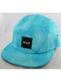 Huf Crystal Wash Volley 5-Panel Cap (cyan)