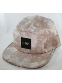 Huf Crystal Wash Volley 5-Panel Cap (light grey)