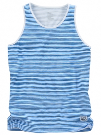 Cleptomanicx Stripe Tank Top (white)