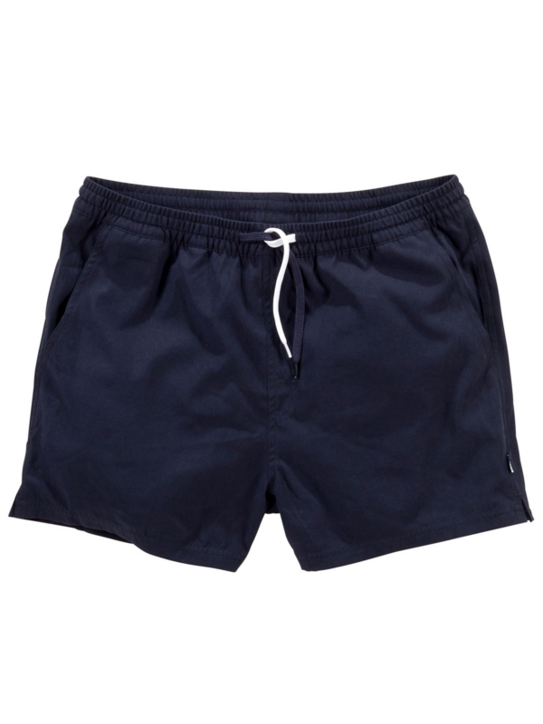 Cleptomanicx Jam Short Kurz (dark navy)