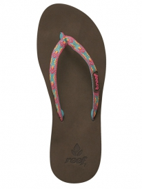 Reef Ginger Flipflops (aqua/gold/pink)