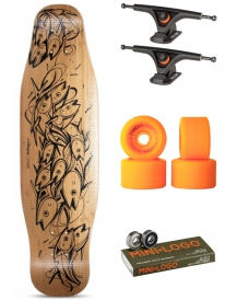 Loaded Poke Komplett Longboard (Bolzen/Metro Motion)