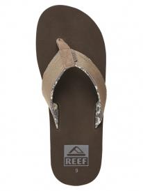 Reef Ponto Prints Flipflops (brown)