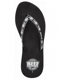 Reef Ginger 30 Years Flipflops (black/white)