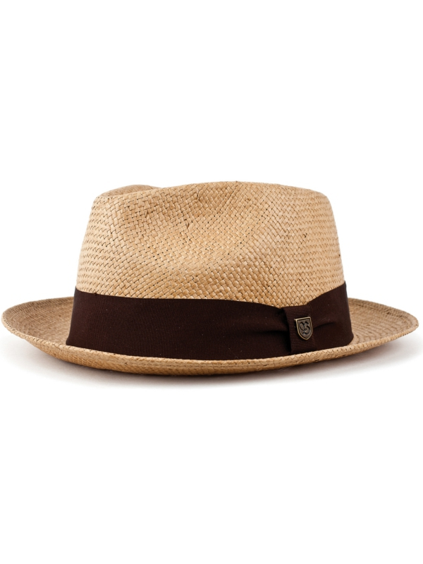 Brixton Baxter Hat (tan/brown)
