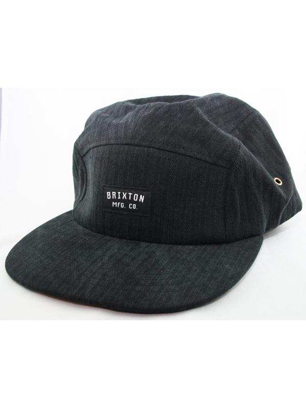 Brixton Hendrick Cap (washed black)