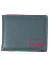 Iriedaily Styled Berlin Wallet (anthrazit/red)