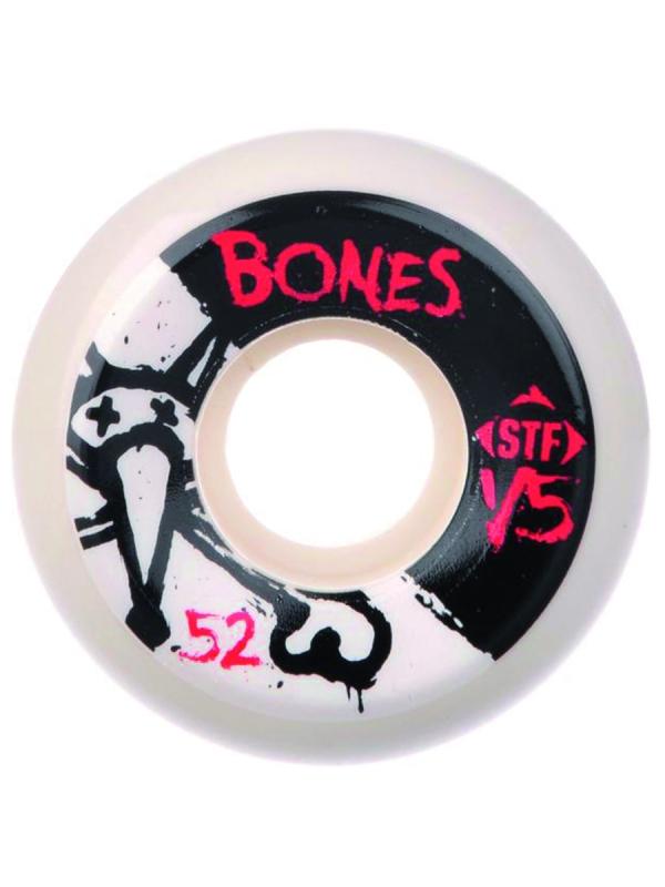 Bones Wheels STF V5 Series 2 Rollen white 83B (versch. Grössen) 4er Satz
