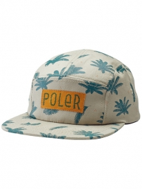 Poler Between Two Ferns 5-Panel Cap (khaki)