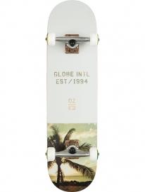 Globe Varsity Skateboard Komplettbrett 8.0 Inch (palm/fog)