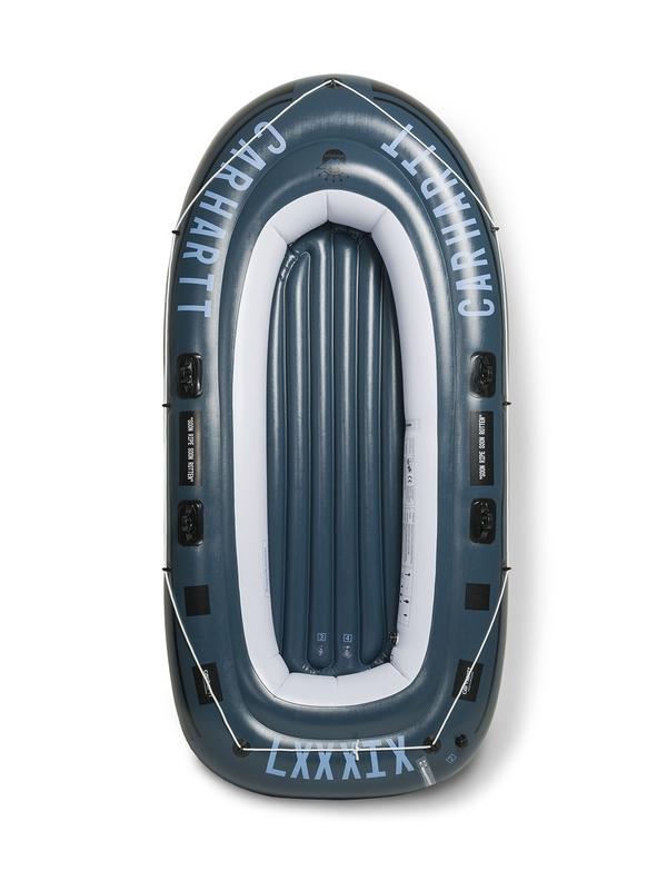 Carhartt WIP WIP 270 Schlauchboot inkl. Alupaddel (colony/columbia/black/white)