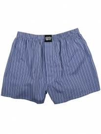 Cleptomanicx Lousy Check Boxershorts (midnight)