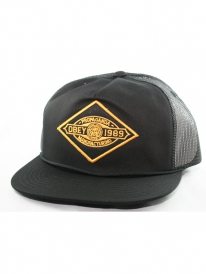 Obey Mining Trucker Cap (black)