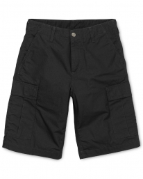 Carhartt WIP Regular Cargo Short (black rinsed)