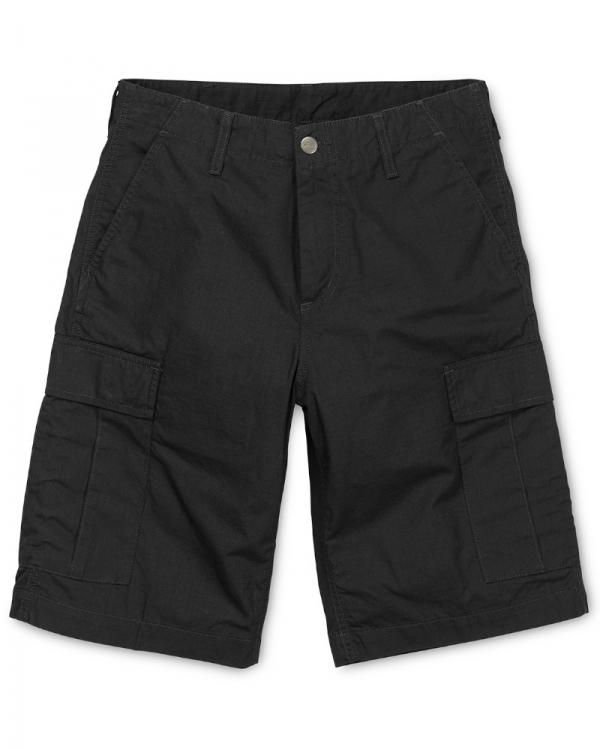 Carhartt WIP Regular Cargo Short (black rinsed)