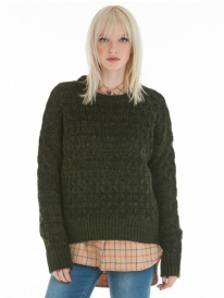 Obey Aberdeen Strick Sweater (army)