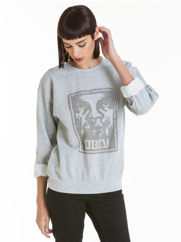 Obey Hold Up Sweater (sports grey)