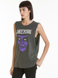 Obey Nasty Icon Tank Top (dusty black)
