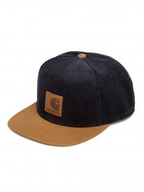 Carhartt WIP Gibson Cap (dark navy/hamilton brown)
