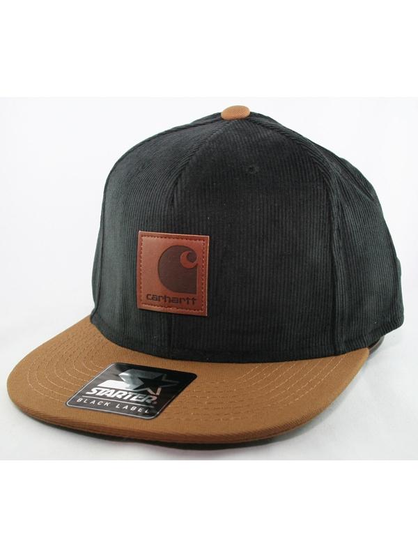 Carhartt WIP Gibson Cap (black/hamilton brown)
