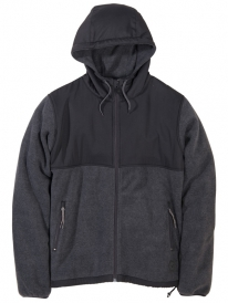 Cleptomanicx Polaris Jacke (heather black)