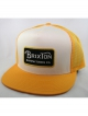 Brixton Grade Mesh Cap (white/gold)