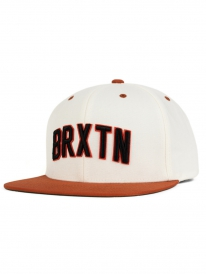 Brixton Hamilton Cap (white/burnt orange)