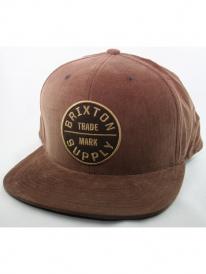 Brixton Oath 3 Cap (brown)