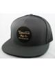 Brixton Wheeler Mesh Cap (charcoal/black)