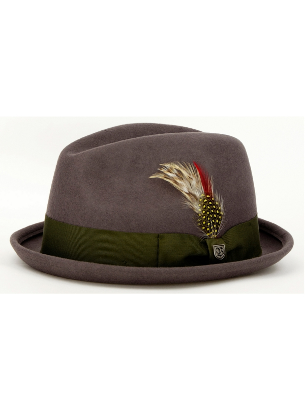 Brixton Gain Hat (grey/green)
