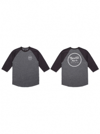 Brixton Wheeler Longsleeve (charcoal heather/black)