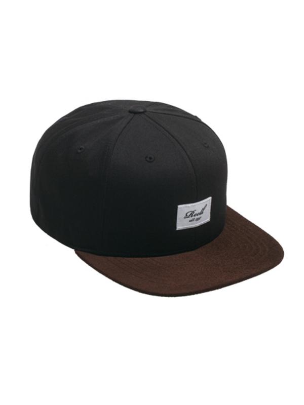 Reell Suede Cap (black)