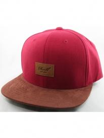 Reell Suede Cap (wine red)