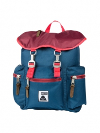 Poler Roamers Pack Rucksack (sweet berry wine/steel blue/cayenne)