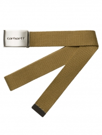 Carhartt WIP Clip Chrome Gürtel (leather)