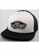 Vans Classic Patch Trucker Cap (black/white)