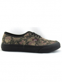 Vans Authentic Slim (suede floral/black/blanc de blanc)