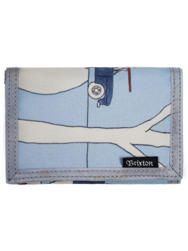 Brixton Barter Wallet (light blue)