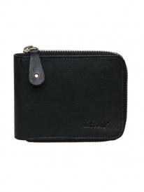 Reell Zip Leather Wallet (black)