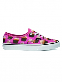 Vans Authentic Late Night (hot pink/cupcakes)