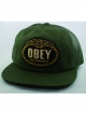 Obey Chains Trucker Cap (olive)