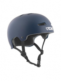 TSG Evolution Helm Solid Colors satin blue (verschied. Größen)