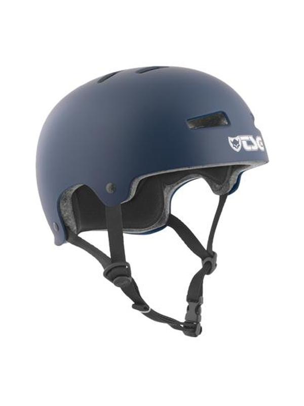 TSG Evolution Helm Solid Colors satin blue (verschied. Größen)