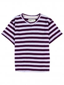 Wemoto Kilda T-Shirt (burgundy-white)