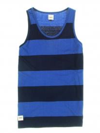 Wemoto Vice Tank Top (navy blue/indigo melange)