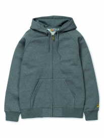 Carhartt WIP Chase Zip Hoodie (grey heather)