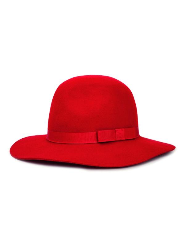 Brixton Dalila Hat (red)